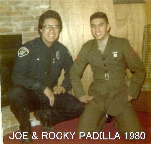 Joe and Rocky Padilla